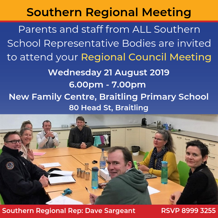 Southern Regional Council Meeting