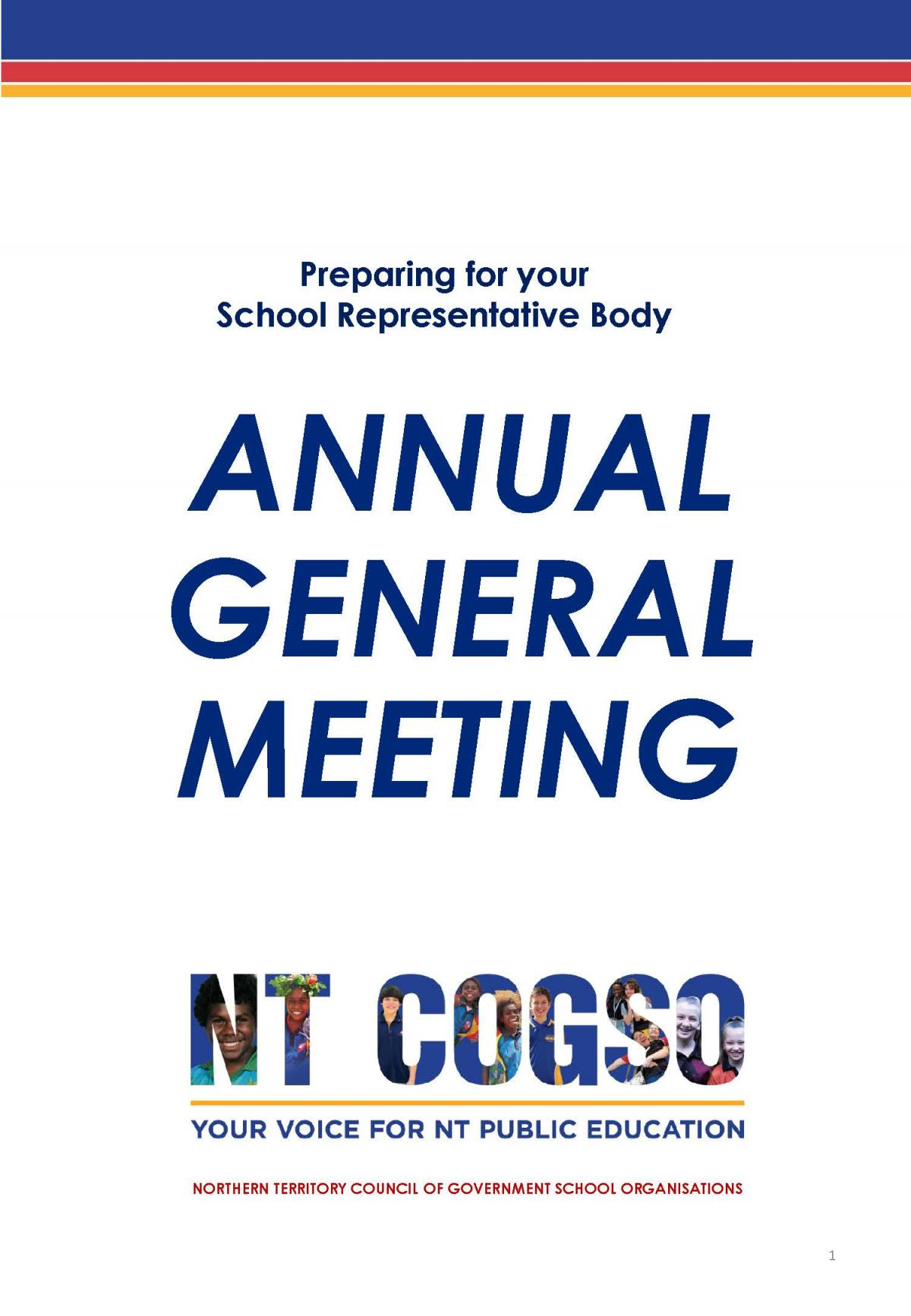 Annual General Meeting Preparation
