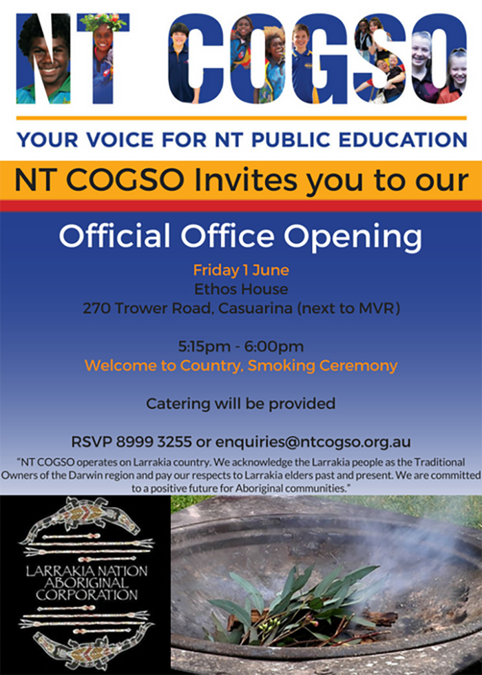 NT COGSO Official Office Opening